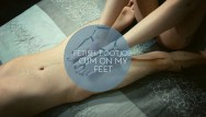 Lili st cyr nude Fetish: footjob - cum on my feet