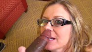 Wife fucking a bbc - Mature wife sucks on bbc