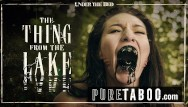 Englewood lake teen - Bree daniels lesbian licking the thing from the lake -pure taboo