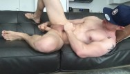 Straight guys humiliate gay Muscular guy fists and dildo fucks his ass, jerks off fat dick and cums