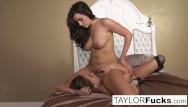 Black clip lesbian Bedroom fun with tori black
