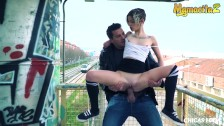 MamacitaZ -I've met The Dirtiest Teen and Fucked Her Near The Train Station