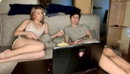 Anal creampie dvd - Timid student fucks in both holes sexy roommate.double penetration
