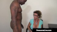 Jet black nude - Pussy fucked cougar deauxma gets strapon banged until she jets her juice