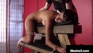 Busty asian ho fucking - Busty cambodian cougar maxine x bound silenced with crazy mexican ho