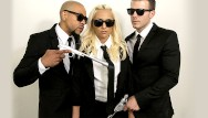 Eddie alvarez nude Nubileset - hime marie gets double teamed by the men in black