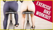Do penis exercise work - My work out on exercise bike in yoga pants ass view era