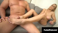 Penis size compared to foot size Pawg blonde joslyn jane gets her size 10 feet worshiped fucked