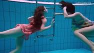 Swimmiing underwater naked tube - Naked russian girls swim underwater