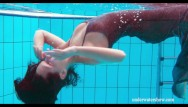 Abby beach bikini pool swim Hottest swimming pool video for you