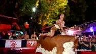 Naked girls and bull - Naked bull banging fantasy fest 2019 rnd2