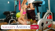Fuck my naughty daughter - Naughty america - abby adams fucks her real dad in an empty gym