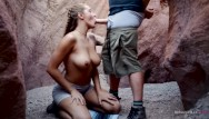 Pregnancy no sex on pill - Hot couple has passionate sex in cave - molly pills - outdoor creampie