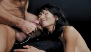Asian hand job thumb - Ravena rey treats cock with her hands, mouth pussy then gets facialized