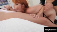 Strack facial feedback Penny pax packs her cracks with 2 big cocks that leave their tracks