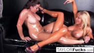 Ass fine tasha - Sexy lesbians use glitter baby oil
