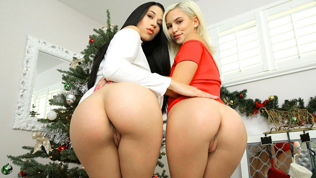 best girlfriend ever gifts me her friend to fuck for christmas 3some s34:e9