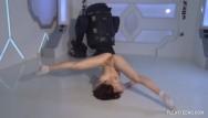 Teen pussy split Dasha kuvshin spreads and splits naked