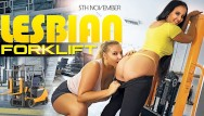 Best porn pages - Vrconk hot blonde and brunette hard fucking in a warehouse vr best porn