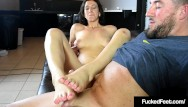 Realistic cocks 9 x 1.5 - 18yo 5 foot 10 jackie ohh gets her size 9 1/2 feet fucked cummed on