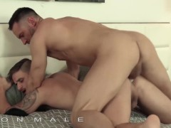 IconMale - Two Fit studs have their own party with blowjobs and ass fucking
