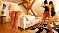 Party girl upskirt pics Dance party at home with 5 girls with backstage behind the scenes included