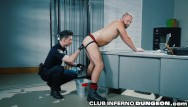 Gay prison strip search Cop gives prisoner an extreme cavity search clubinfernodungeon