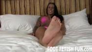 London foot fetish video girls Toe sucking and pov foot fetish videos