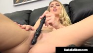 Naked wet pussys Naked nympho natalia starr dildo fucks her wet creaming cunt