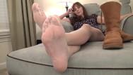 My girlfriend vagina smells Smelly my stinky feet in pantyhose pov foot smelling karas feet