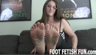 Foot and anal porn - Femdom feet and foot massage porn