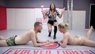 Mud naked woman wrestling - Sexy mixed arm mixed wrestling hot man vs hot woman chad vs riley reyes