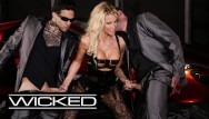 Picture of sexy women bra - Jessica drake takes facials from 2 dicks - wicked pictures