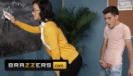 Bart fucks teacher Brazzers - big dick student anal stuffs teacher jennifer white