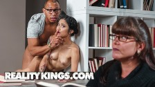 Reality Kings - Small inked Asian Avery Black gets dominated by bbc