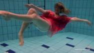 Laurayluis naked swim Swimming babe duna naked small tits
