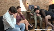 Tube sex bizzare Bizzare interview with perv old couple