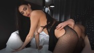 Sexy night amature Escort young girl in sexy lingerie fucked in a tight pussy - creampie