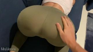 Cum On Yoga Pants
