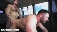 Gay go guy straight Baitbus - straight guy going doggy on muscular ass, over over loop