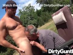 Cum Makes Senior Gunther Sense Alive