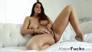 Barbi alison nude Sexy solo with stacked alison tyler