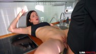 Getting fucked in kitchener ontario Fucked a neighbor in the kitchen and cum on face / luna roulette
