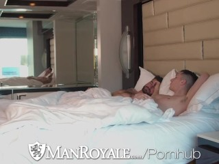 ManRoyale Two Hunks Fuck Hard On Valentines Day