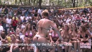 Import racing bikini contest Contest at nudist resort goes completely out of control