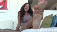 Fishnet toe lesbians foot fetish Pov foot fetish and femdom videos