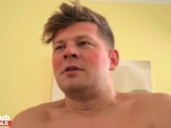 Fake Pornography Shoot Lucky Handyman Fucks Pornstars Charlie Red And Mary Rock