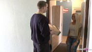 Tiny tits spankwire Mailman caught german teen tight tini masturbate and seduce fuck