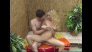 Bees teen pussies rammed - Hot little blonde gets rammed outside by the pool