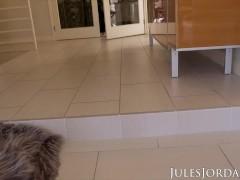 Jules Jordan - Tiny Size Queen Harmony Wonder Takes On Dredd's Bbc